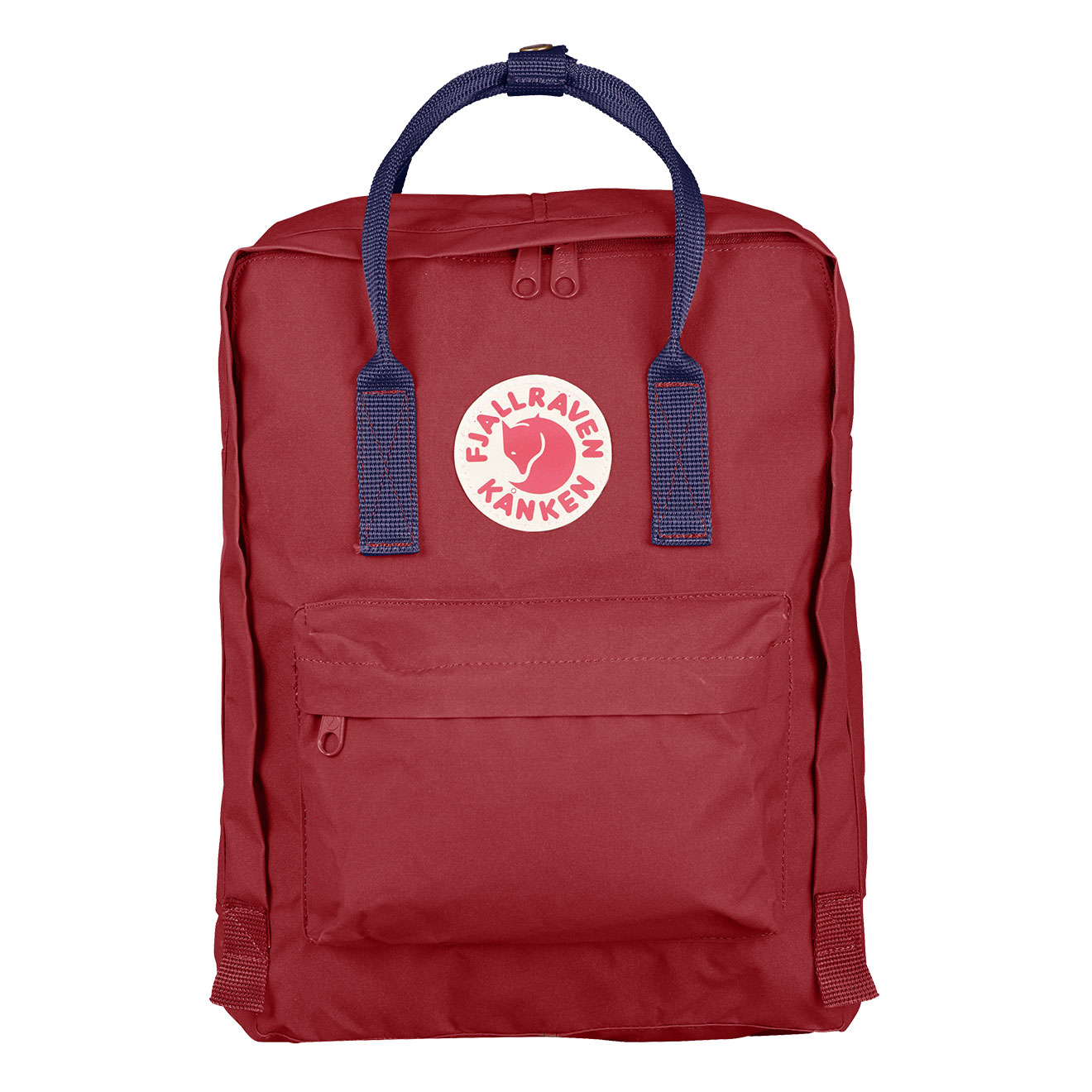 kanken ox red royal blue